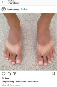 sandle tan